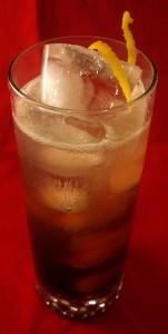 Black Lightning cocktail