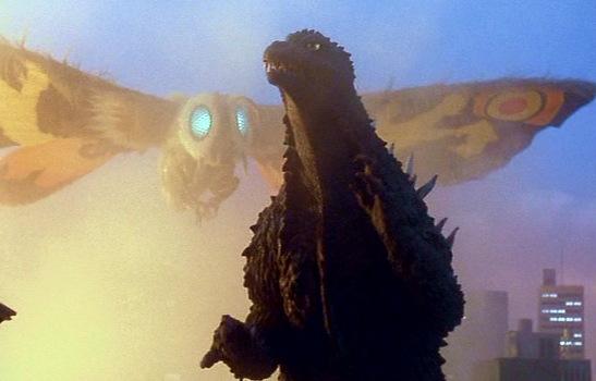 Godzilla Vs Mothra